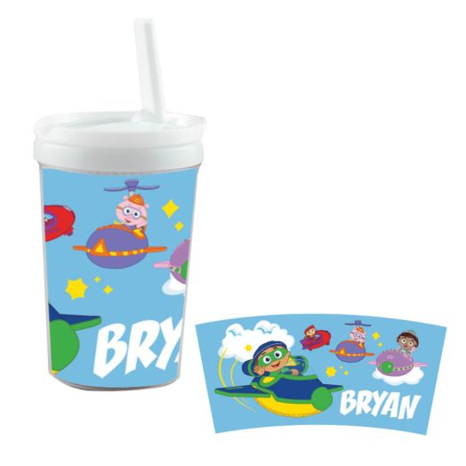 Super Why Group White Sippy Cup