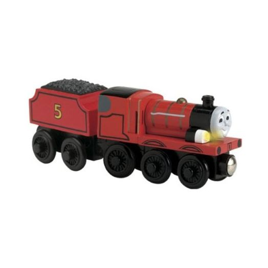 Thomas & Friends Wooden Railway Talking James Engine