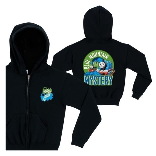 Thomas & Friends Blue Mountain Mystery Navy Zip-Up Hoodie