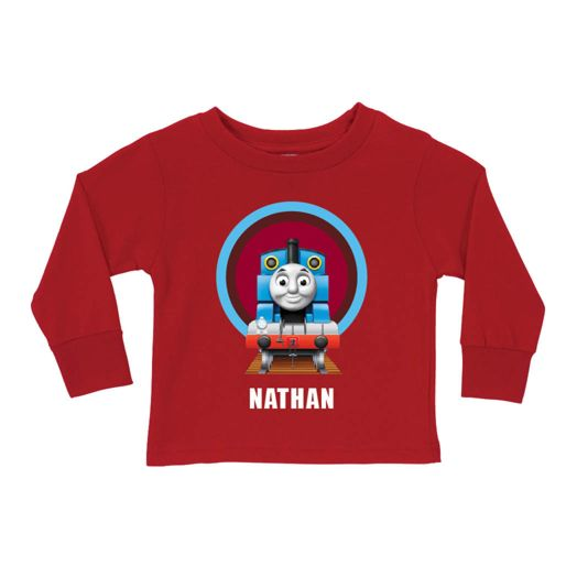 Thomas & Friends Red Tunnel Long Sleeve Tee