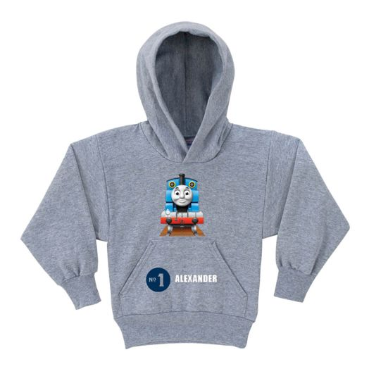 Thomas & Friends No. 1 Gray Youth Hoodie