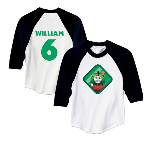 Thomas & Friends Percy Black Sports Jersey