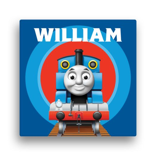 Thomas & Friends Close-Up 16 x 16 Canvas Wall Art
