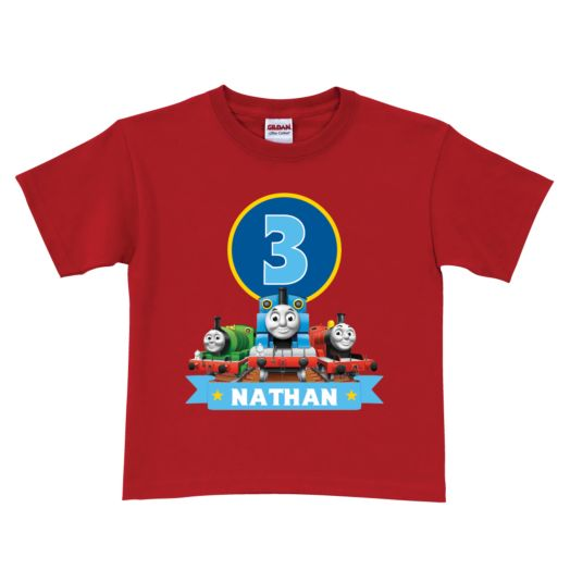 Thomas & Friends Birthday Express Red T-Shirt