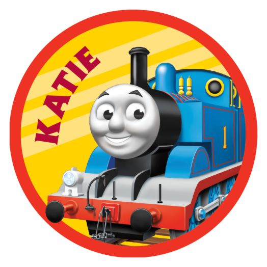 Thomas & Friends Retro Thomas Round Mouse Pad