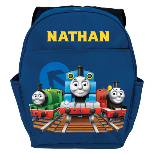 Thomas & Friends All Aboard Blue Youth Backpack