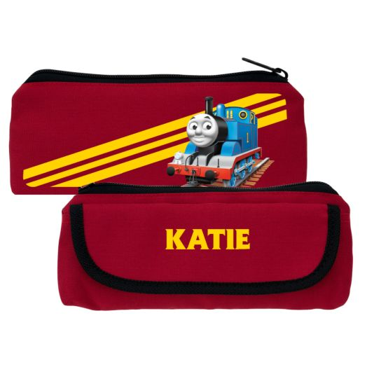 Thomas & Friends Retro Stripes Red Pencil Case