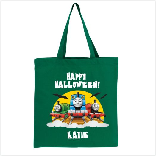 Thomas & Friends Happy Halloween! Green Trick-or-Treat Bag