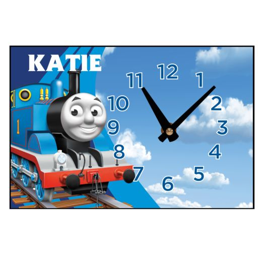 Thomas & Friends in Clouds Desk Clock