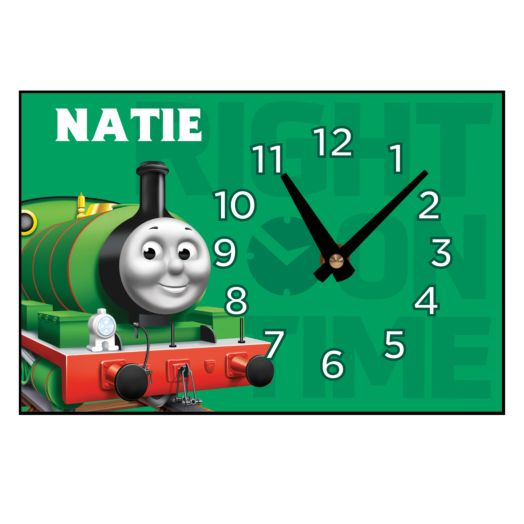 Thomas & Friends Percy Right On Time Desk Clock