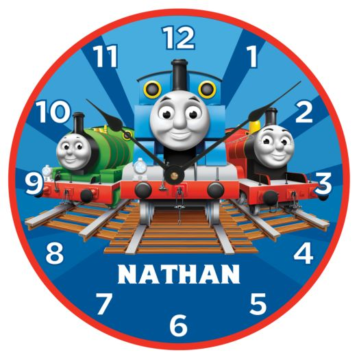 Thomas & Friends Track Time Wall Clock