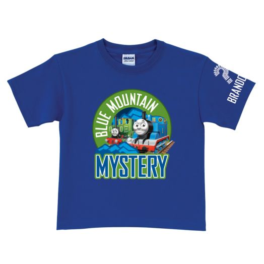 Thomas & Friends Blue Mountain Mystery Royal Blue T-Shirt