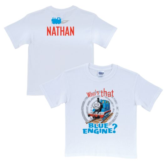 Thomas & Friends Blue Engine White T-Shirt