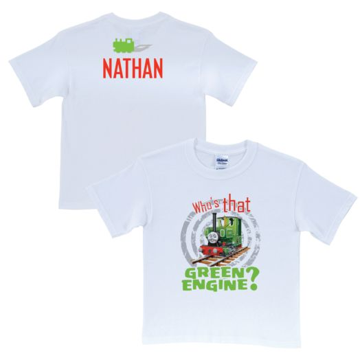 Thomas & Friends Green Engine White T-Shirt