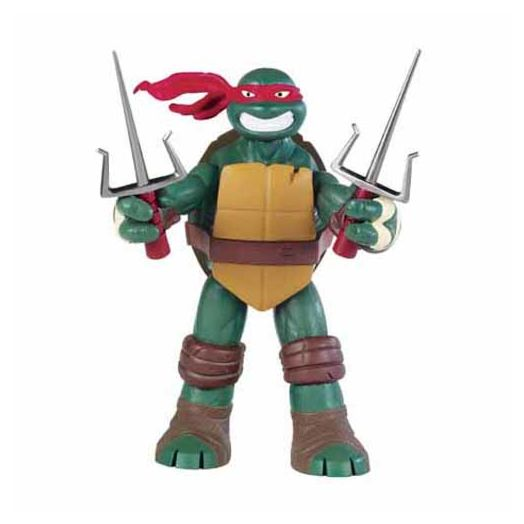 "Teenage Mutant Ninja Turtles 10-1/4"" Battle Shell Raphael Action Figure"
