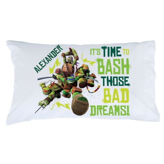 Teenage Mutant Ninja Turtles Bash Pillowcase