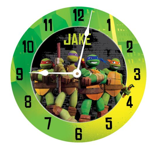 Teenage Mutant Ninja Turtles Turtle Power Wall Clock