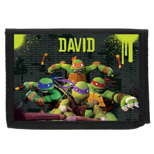 Teenage Mutant Ninja Turtles Ooze Black Wallet