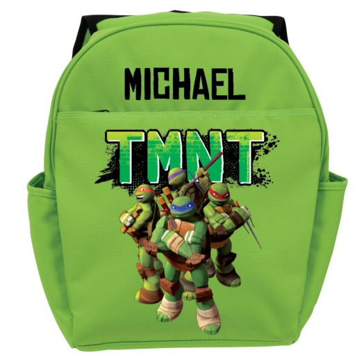Teenage Mutant Ninja Turtles Strike a Pose Green Youth Backpack