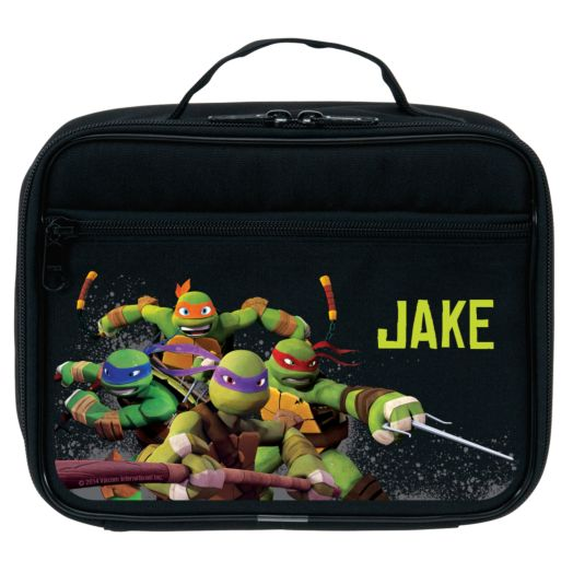 Teenage Mutant Ninja Turtles Protect Black Lunch Bag