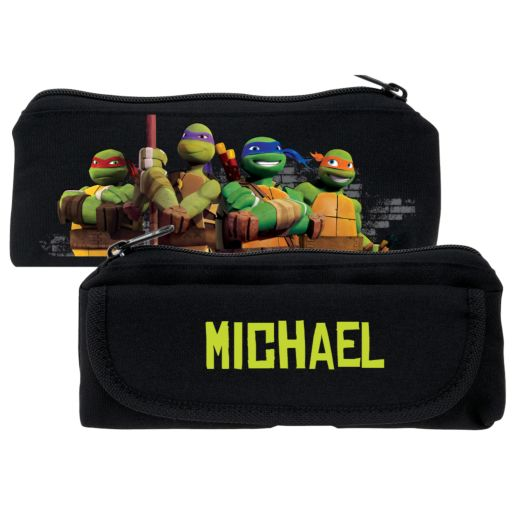 Teenage Mutant Ninja Turtles Protect Black Pencil Case