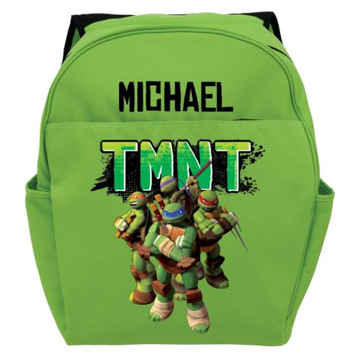 Teenage Mutant Ninja Turtles Strike a Pose Green Toddler Backpack