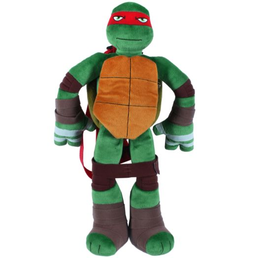 Teenage Mutant Ninja Turtles Raphael 3D Plush Backpack
