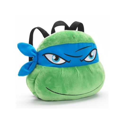 Teenage Mutant Ninja Turtles Leonardo 3D Head Plush Backpack