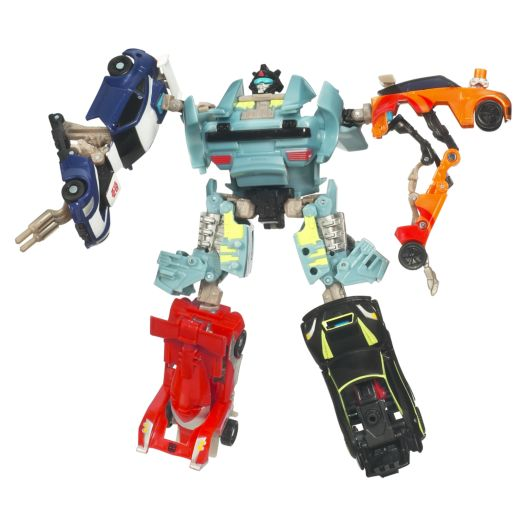 Transformers Power Core Combiners Double Clutch with Rallybots