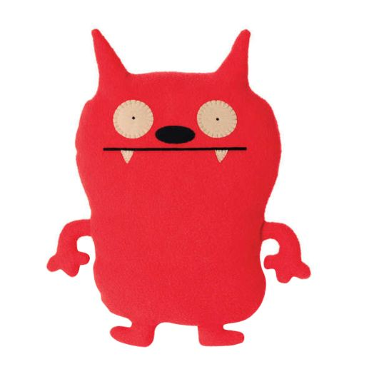 GUND Uglydoll Red Dave Darinko Plush