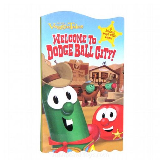 VeggieTales Welcome To Dodge Ball City book