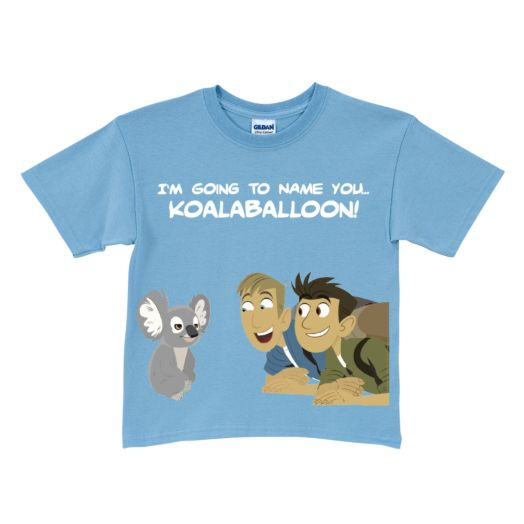 Wild Kratts Koalaballoon Light Blue T-Shirt