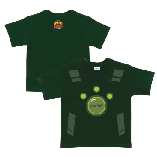 Wild Kratts Creature Power Suit Forest Green T-Shirt