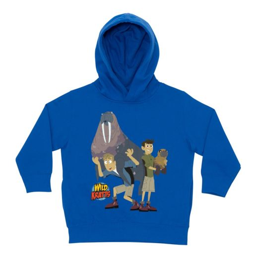Wild Kratts Tons of Fun Royal Blue Toddler Hoodie
