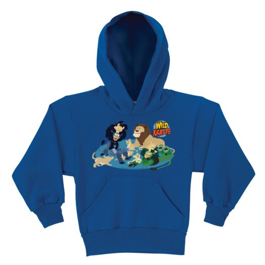 Wild Kratts Lion Around Royal Blue Youth Hoodie