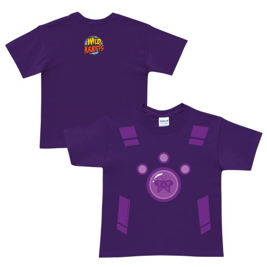 Wild Kratts Creature Power Suit Purple T-Shirt