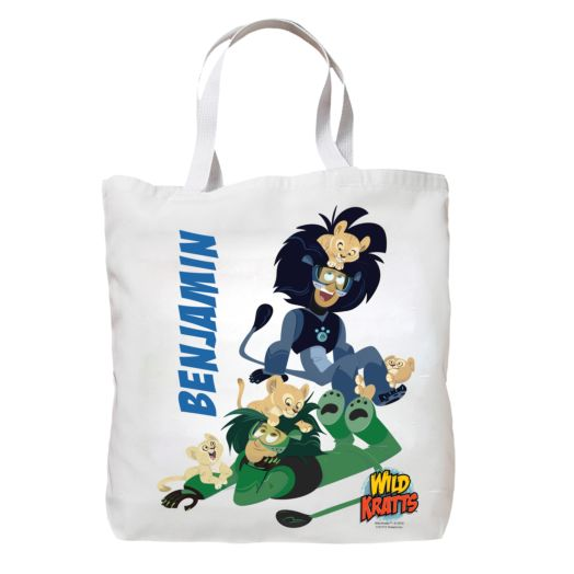 Wild Kratts Lion Cubs Tote Bag