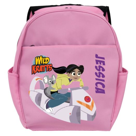 Wild Kratts Aviva & Koalaballoon Pink Toddler Backpack