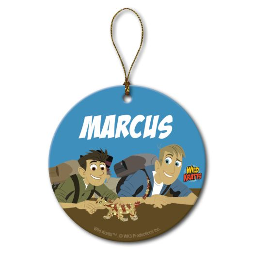 Wild Kratts Lizzard Friend Circle Ornament