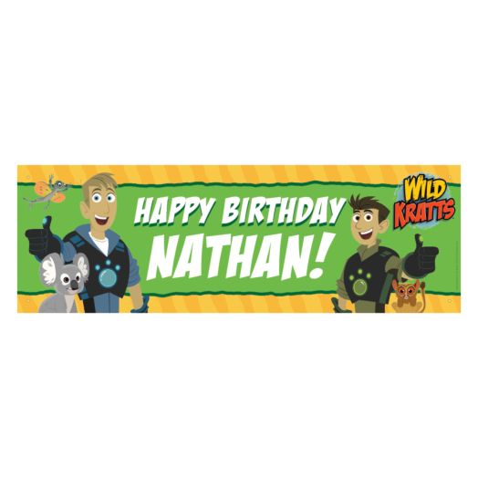 Wild Kratts Birthday Adventure Banner