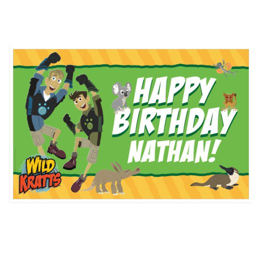 Wild Kratts Birthday Adventure Placemat