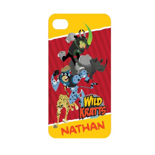 Wild Kratts Creature iPhone 4 Case