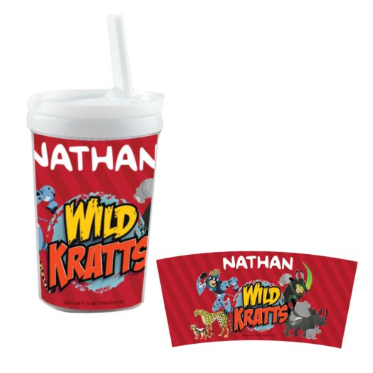 Wild Kratts Creature White Sippy Cup