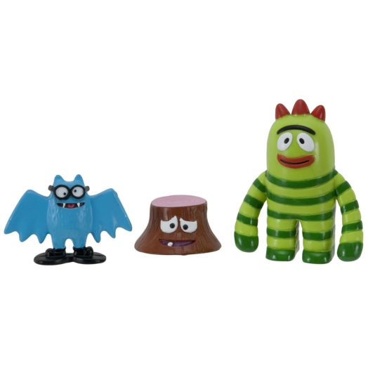 Yo Gabba Gabba Lil' Fun Friends! Character Set - Brobee