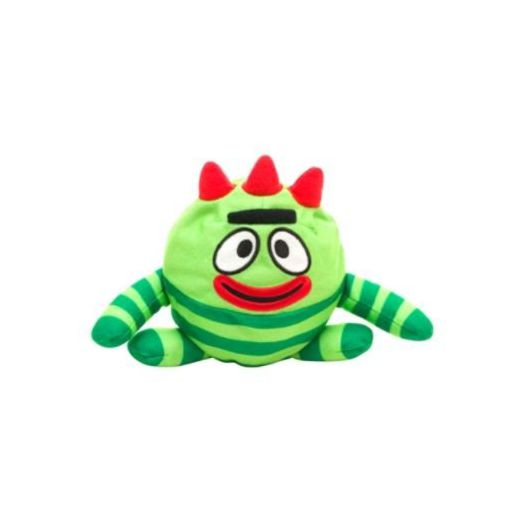 "Yo Gabba Gabba Silly Heads Brobee 6"" Plush"