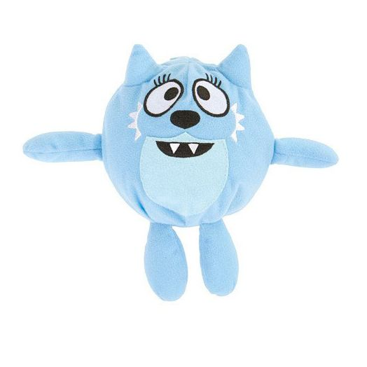 "Yo Gabba Gabba Silly Heads Toodee 6"" Plush"