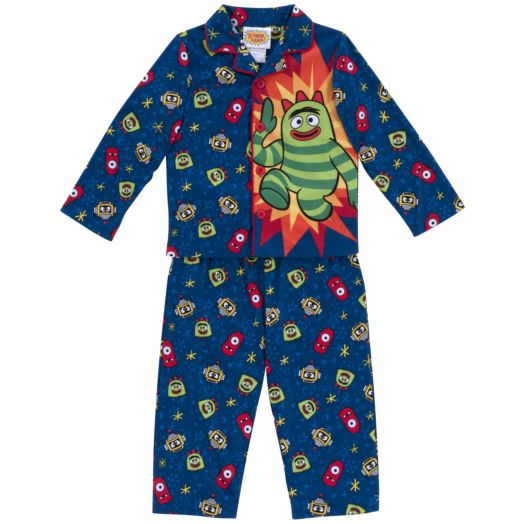 Yo Gabba Gabba Boy's Toddler 2-Piece Pajama Set