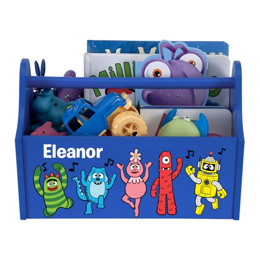 Yo Gabba Gabba Music Notes Blue Toy Caddy