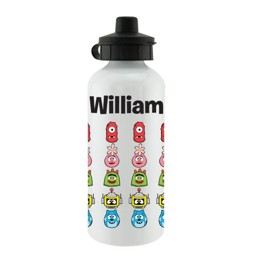 Yo Gabba Gabba Line-Up White Sports Bottle