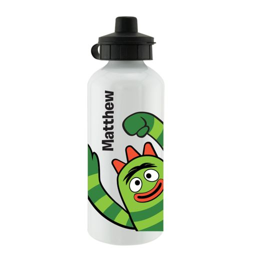 Yo Gabba Gabba Brobee White Sports Bottle